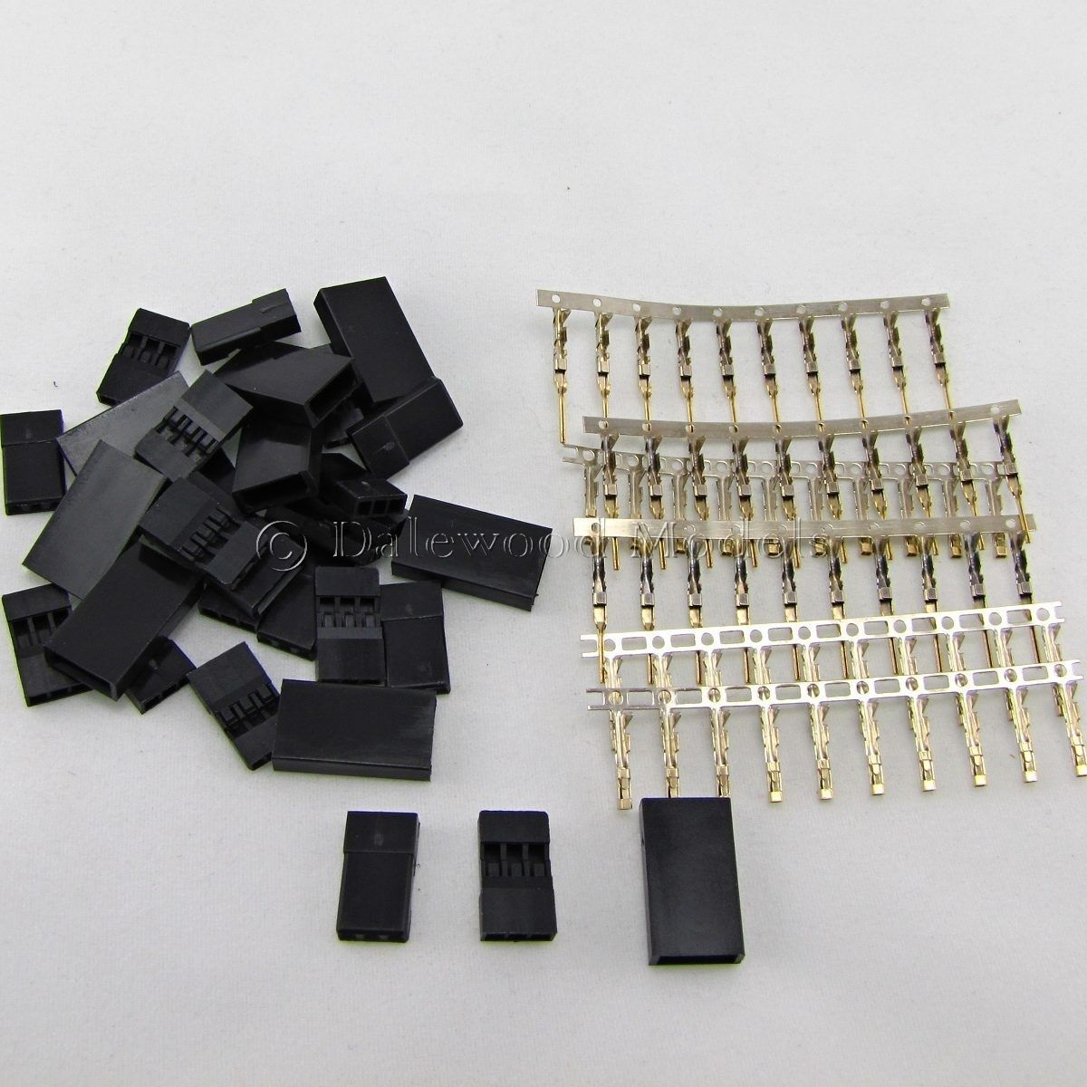 Sets Servo Connectors 2.54 Terminals Plug for RC Model Helicopter 10 Pairs